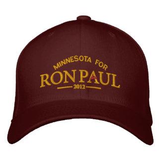 Boné Bordado Chapéu bordado customizável de Ron Paul