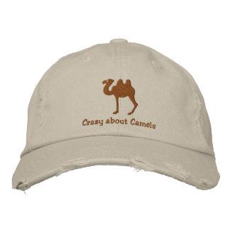 Boné Bordado Chapéu bordado customizável do camelo bactriano