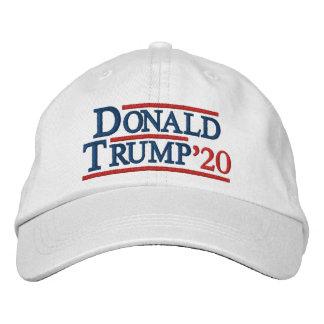 Boné Bordado Chapéu bordado de Donald Trump 2020