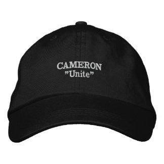 Boné Bordado Chapéu bordado divisa do clã de Cameron