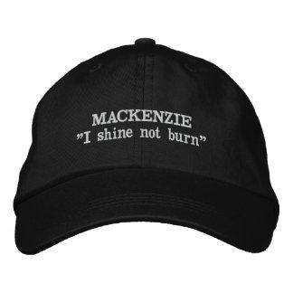 Boné Bordado Chapéu bordado divisa do clã de MacKenzie