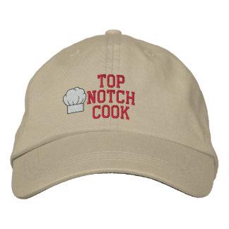 Boné Bordado Chapéu bordado do entalhe cozinheiro superior