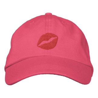 Boné Bordado Chapéu bordado do Pucker beijo ascendente