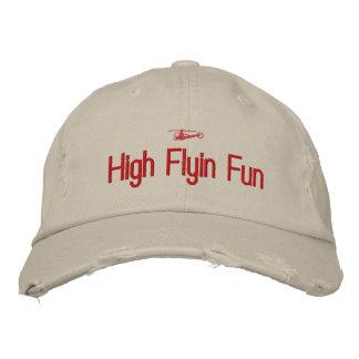 Boné Bordado Chapéu bordado helicóptero