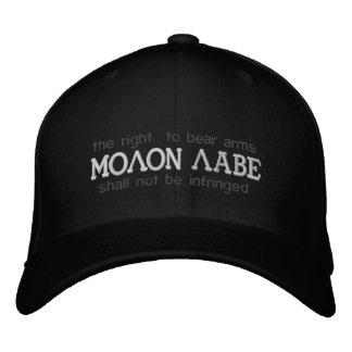 Boné Bordado Chapéu bordado Labe de Molon
