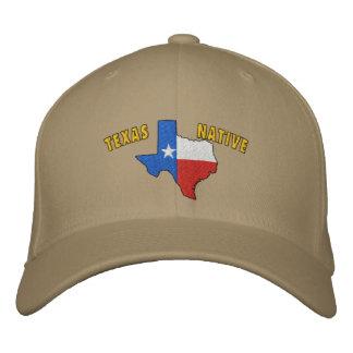 Boné Bordado Chapéu bordado nativo de Texas