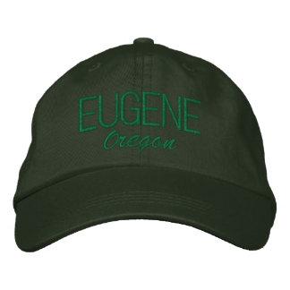 Boné Bordado Chapéu bordado Oregon de Eugene