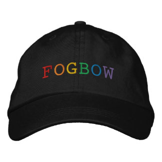 Boné Bordado Chapéu bordado palavra de Fogbow