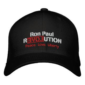 Boné Bordado Chapéu bordado revolução de Ron Paul