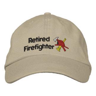 Boné Bordado Chapéu bordado sapador-bombeiro aposentado