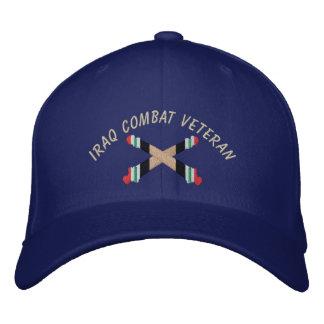 Boné Bordado Chapéu cruzado artilharia do canhão do veterano de