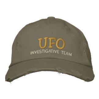 Boné Bordado Chapéu da equipe investigatório do UFO