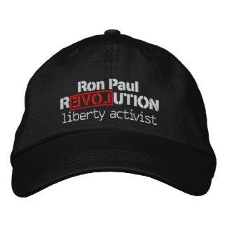 Boné Bordado Chapéu da revolução de Ron Paul