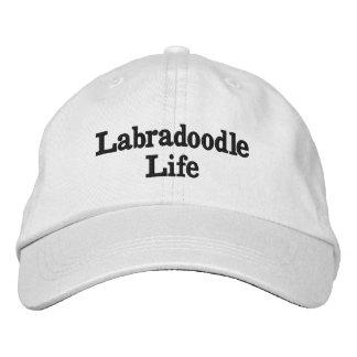 Boné Bordado Chapéu da vida de Labradoodle
