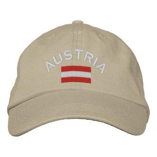 Boné Bordado Chapéu de Áustria - bandeira austríaca
