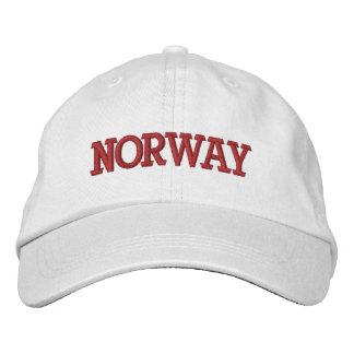 Boné Bordado Chapéu de basebol ajustável de Noruega