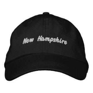 Boné Bordado Chapéu de New Hampshire