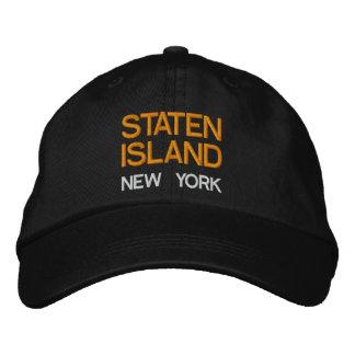 Boné Bordado Chapéu de New York - de Staten Island New York