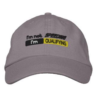 Boné Bordado Chapéu de qualificação