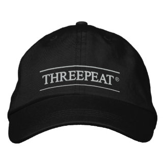 Boné Bordado Chapéu de Threepeat