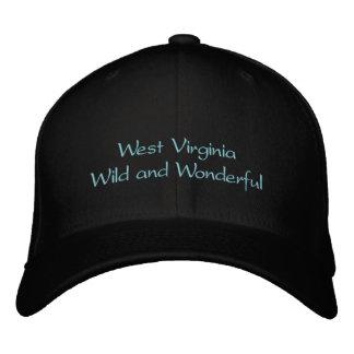 Boné Bordado Chapéu de West Virginia