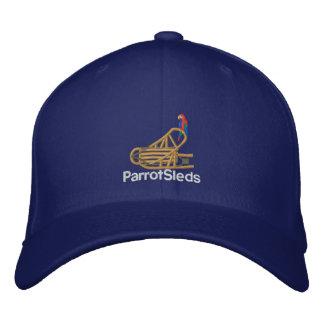 Boné Bordado Chapéu do ajustado do cabo flexível de ParrotSleds