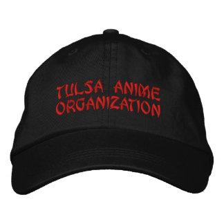 Boné Bordado Chapéu do Anime de Tulsa (escuro)