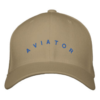 Boné Bordado Chapéu do aviador