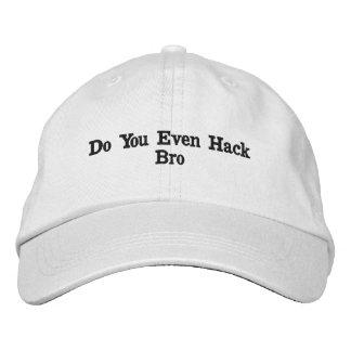 Boné Bordado Chapéu do cabouqueiro