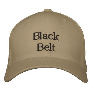 Boné Bordado Chapéu do cinturão negro
