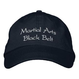 Boné Bordado Chapéu do cinturão negro das artes marciais