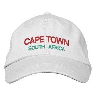 Boné Bordado Chapéu do costume de Cape Town África do Sul