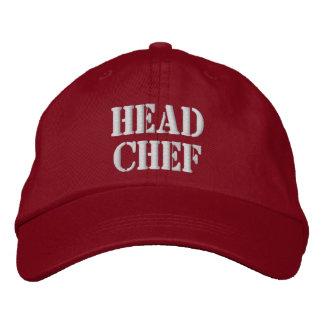 Boné Bordado Chapéu do cozinheiro chefe principal
