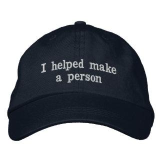 Boné Bordado Chapéu do dia dos pais para o pai