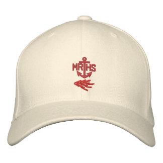 Boné Bordado Chapéu do logotipo da âncora de MRHS