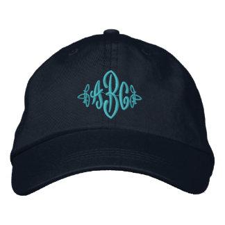 Boné Bordado Chapéu do monograma