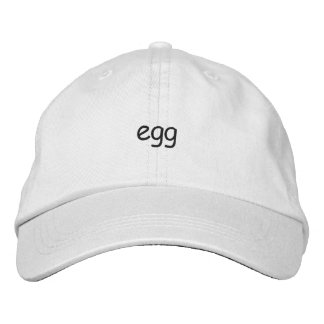 Boné Bordado Chapéu do ovo