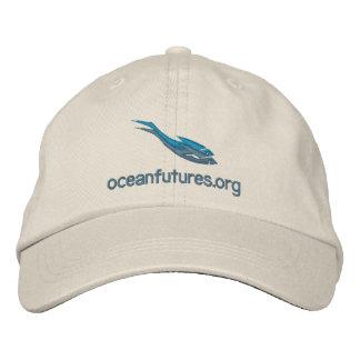Boné Bordado Chapéu dos futuros do oceano