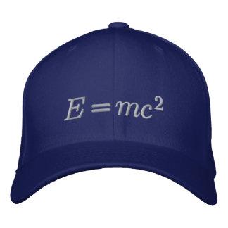 Boné Bordado Chapéu: Einstein, linha da cinza
