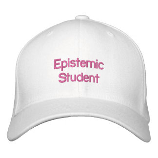 Boné Bordado Chapéu Epistemic do estudante