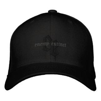 Boné Bordado chapéu para fora enegrecido extinto inimigo