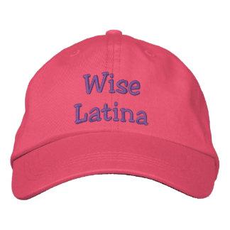 Boné Bordado Chapéu sábio de Latina