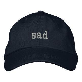 Boné Bordado chapéu triste