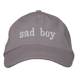 Boné Bordado chapéu triste do menino