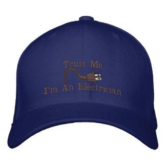 Boné Bordado Chapéus personalizados costume do eletricista