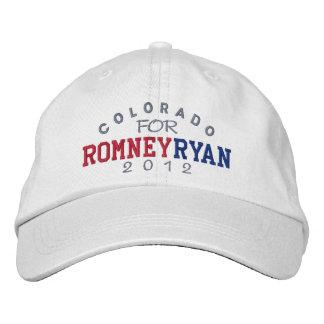 Boné Bordado Colorado Mitt Romney Paul Ryan 2012