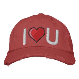 Boné Bordado Coração grande - personalizado