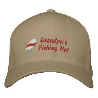 Boné Bordado Costume do chapéu da pesca do vovô personalizado