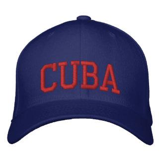 Boné Bordado Cuba