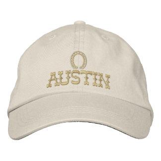 Boné bordado de Austin Texas